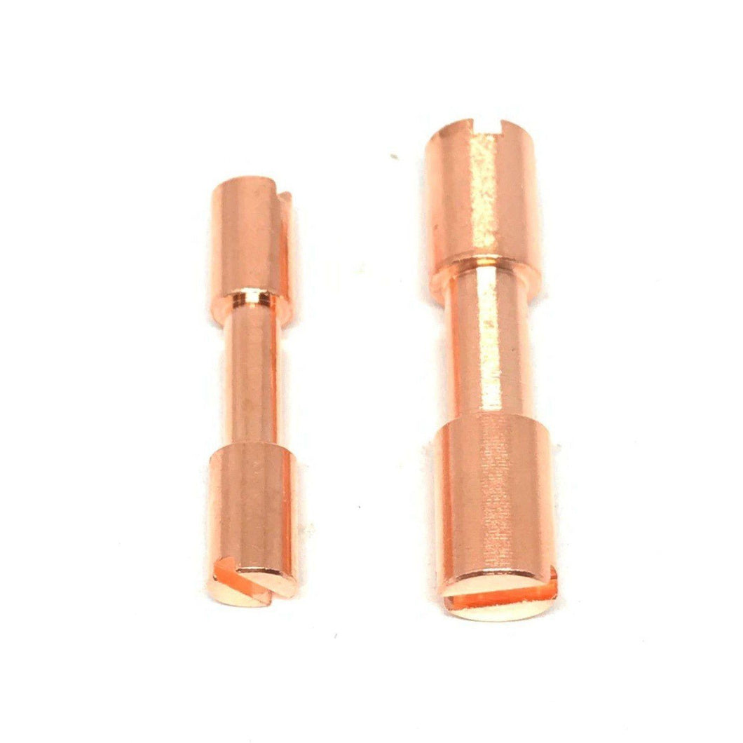 Corby Bolts- COPPER - Rivets / Knife Handle Fasteners-  3/16