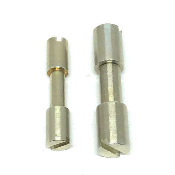 Corby Bolts- NICKEL SILVER - Rivets / Knife Handle Fasteners-  3/16