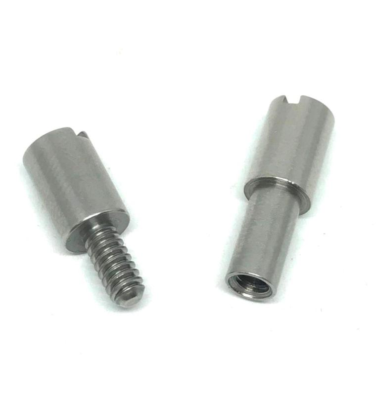 "Corby Bolts- STAINLESS STEEL- Rivets / Knife Handle Fasteners-  3/16, 1/4, 5/16"" - Maker Material Supply"