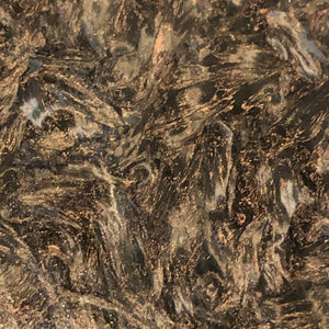 "Dark Matter -COPPER- Marbled Carbon Fiber- .2"" Thickness- 1 Piece- Fat Carbon - Maker Material Supply"