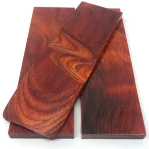 "Dymalux ""Cocobolo"" Laminated Wood Knife Handle Scales Slabs- 1/4"" x 1.5"" x 5"" - Maker Material Supply"