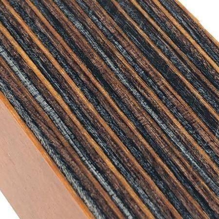 "DymaLux- ""Ember Glow"" Laminated Wood- Turning Blank- 1.5"" x 1.5"" x 6"" - Maker Material Supply"