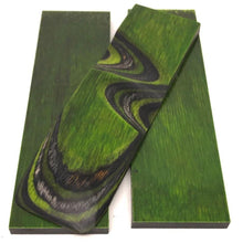 "Dymalux ""Green Hornet"" Laminated Wood Knife Handle Scales- 1/4"" x 1.5"" x 5"" - Maker Material Supply"