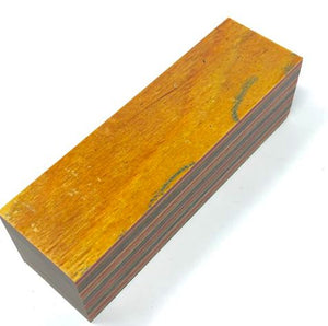 "DymaLux- ""Skateboard"" Laminated Wood- Turning Blank- 1.5"" x 1.5"" x 6"" - Maker Material Supply"