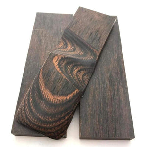 "Dymalux ""WALNUT"" Laminated Wood Knife Handle Scales Slabs- 1/4"" x 1.5"" x 5"" - Maker Material Supply"