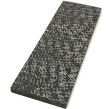 "Gold ""SnakeSkin"" Carbon Fiber Slab- 3/16"" x 3"" x 6""- 1 Piece- Fat Carbon - Maker Material Supply"