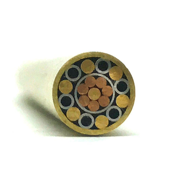 Mosaic Pin for Knifemaking 1/4