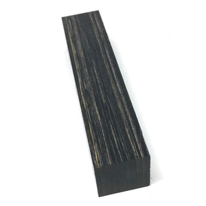 "Pen Turning Blank- Dymalux- BLACKWOOD- Laminated Stabilize Wood- 1"" x 1"" x 5"" - Maker Material Supply"