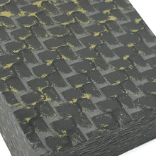 "Ring Blank- BRASS Infused Carbon Fiber 1/2"" x 1.25"" x 1.25"" CarbonWaves - Maker Material Supply"