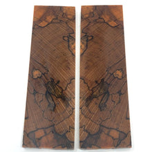 Spalted Beech- Stabilized Wood- Dyed ORANGE- Various Sizes - Maker Material Supply