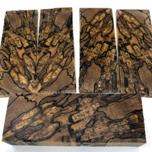 Spalted Beech- Stabilized Wood- Dyed Yellow- Various Sizes - Maker Material Supply