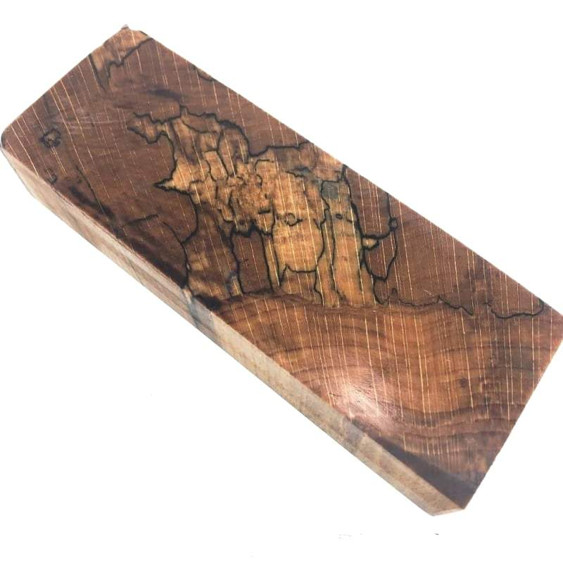 Spalted Beech- Stabilized Wood- Natural Color- Various Sizes - Maker Material Supply