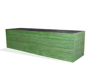 SpectraPly Laminated Wood- GREEN HORNET-  Various sizes - Maker Material Supply