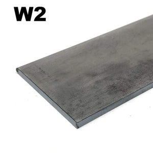 W2 High Carbon Blade Steel Flat Bar- Various Sizes - Maker Material Supply