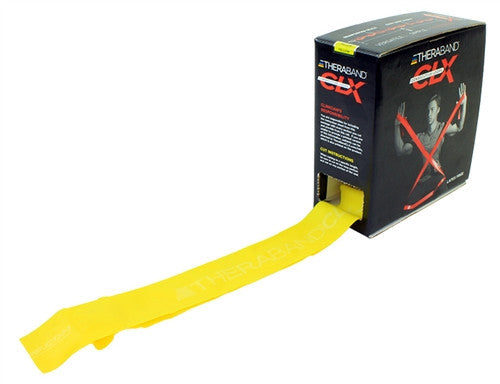 TheraBand CLX™ Consecutive Loop Bands 25 Yard Dispenser Box - Chiropractic Supplies