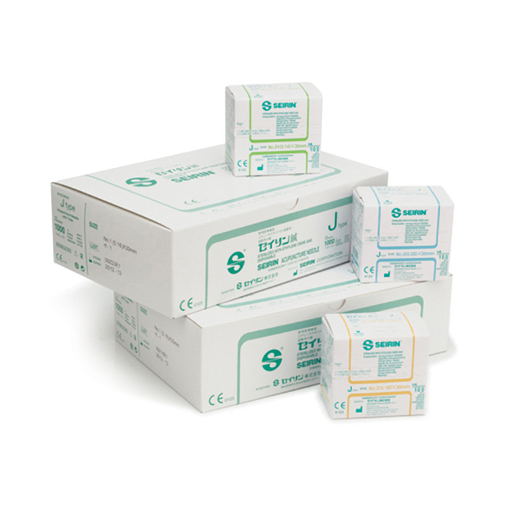 SEIRIN J-TYPE ACUPUNCTURE NEEDLES - Chiropractic Supplies