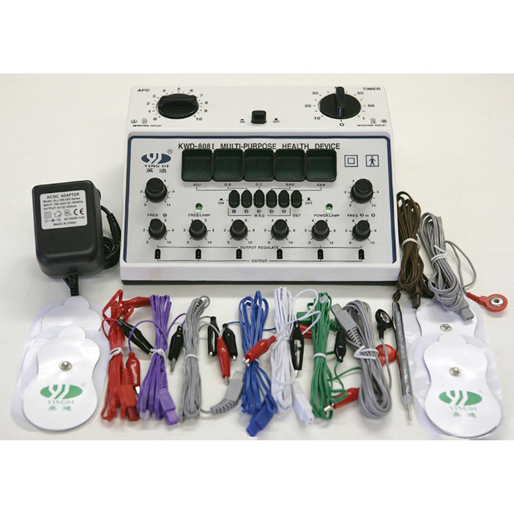 6 Channel ACU Machine - Chiropractic Supplies