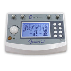 Quattro 2.5, clinical 4-channel EMS/TENS/Russian/IF2/IF4 - Chiropractic Supplies