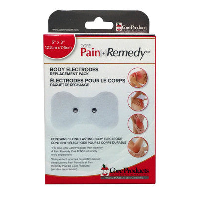 Pain Remedy TENS Body Electrode 1 Pack - Chiropractic Supplies