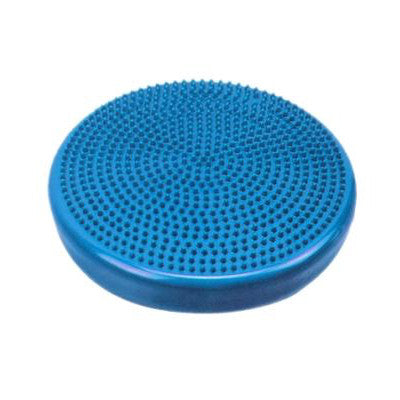 """BUY 2 GET 1 FREE""  CanDo® Balance Disc - 14"" (35 cm) Diameter - Blue Only $36.79 for 3 - Chiropractic Supplies"