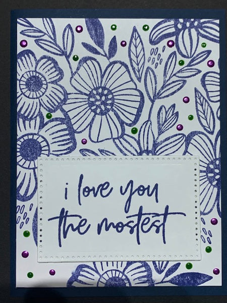 Card-Love you Mostest