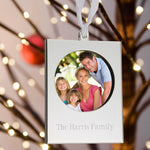 Personalized Frame Ornament