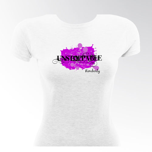 Zebra Princess Fitted Quinceanera T-Shirts
