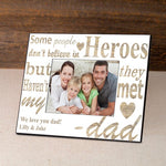 Personalized I'm Glad Father's Day Frame