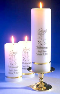 Deluxe Anniversary Candle Set