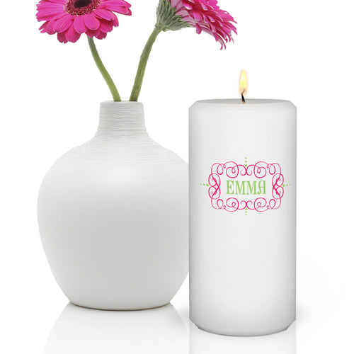 Glamour Girl Candle 3 x 6 Round
