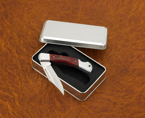 Personalized Yukon Lock Back Knife