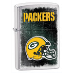 NFL Brushed Chrome Zippo Lighter