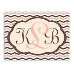 Personalized Baby Chevron Canvas Sign