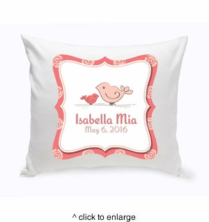 Baby Nursery Throw Pillow