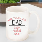 Personalized World's Greatest Coffee Mug