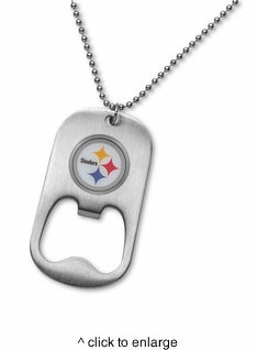 NFL Necklace Bottle Opener