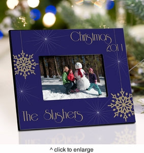 Personalized Christmas Picture Frames