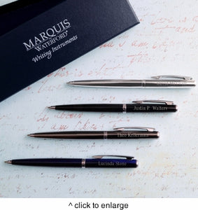 Personalized Waterford?? Arcadia Ballpoint Pen