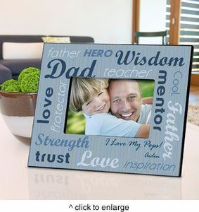 Personalized All-Star Dad Frame