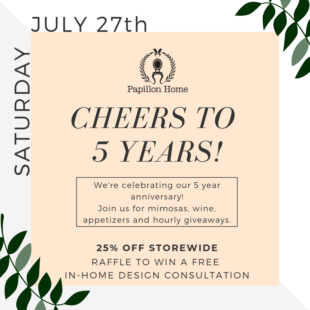 Join us for our 5 Year Anniversary Celebration!