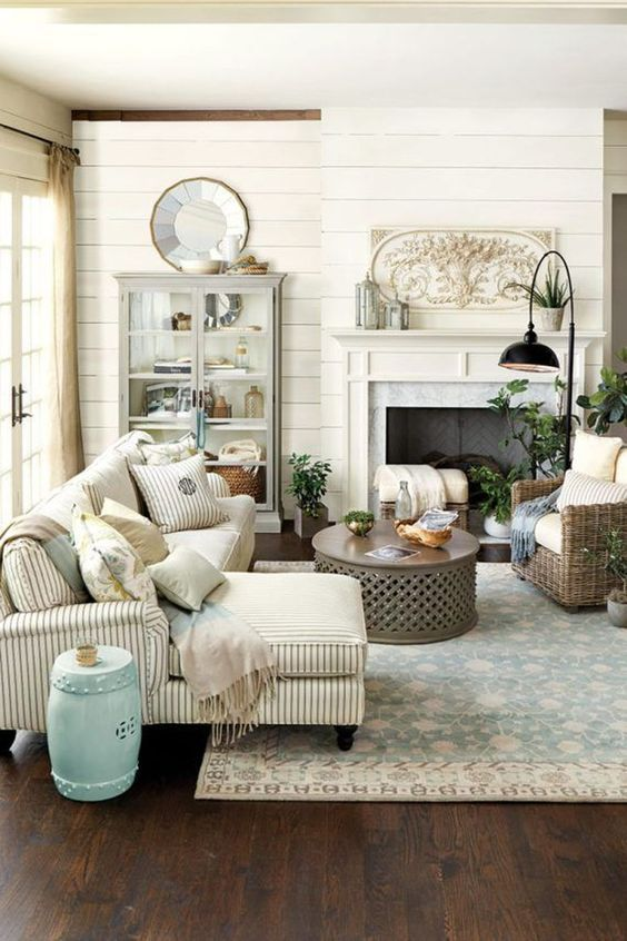 Gorgeous Modern Farmhouse Living Rooms