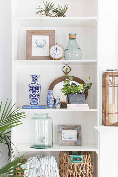 How to Style Your Open Shelving
