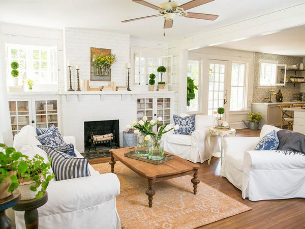 magnolia home decor living room shop this look in boca raton papillon home shop