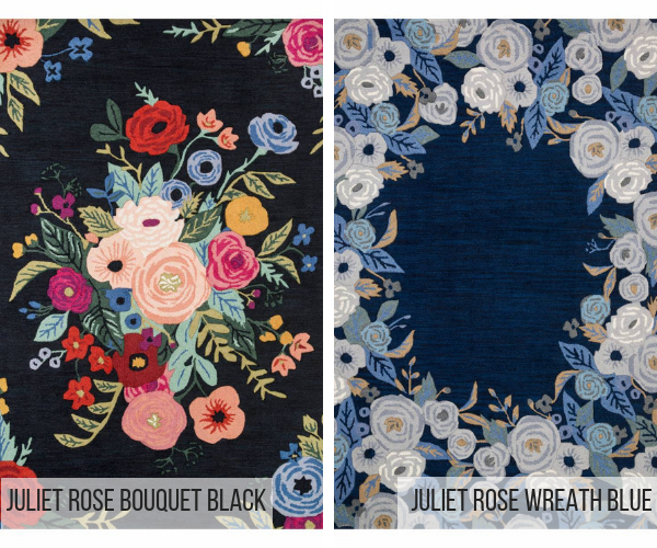 two popular rugs from rifle paper co new rug collection with loloi rugs