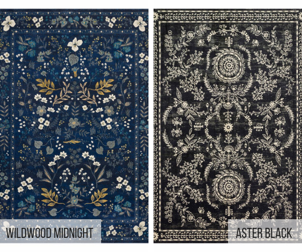 new rugs from the nairi collection with rifle paper co now sold in boca raton