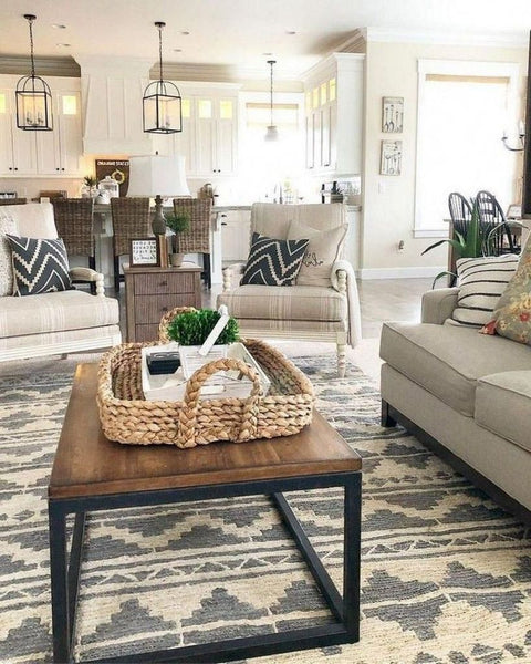 Gorgeous Modern Farmhouse Living Rooms Papillonvintagehome