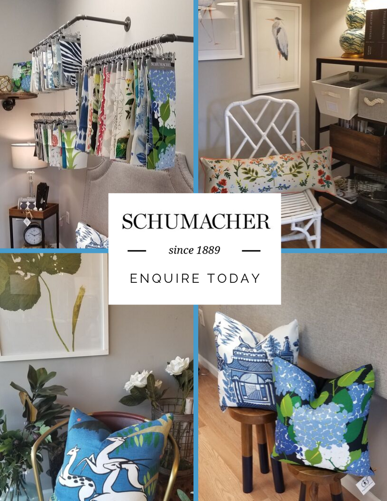 Schumacher Fabrics, Trims & Decor