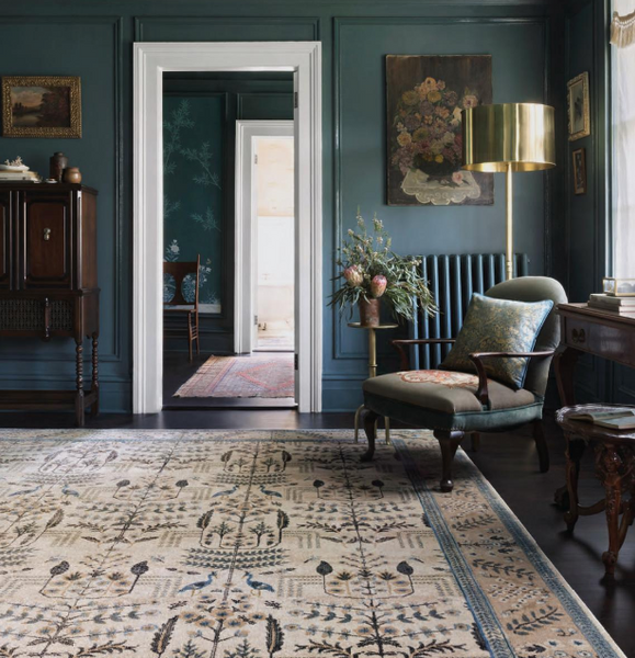 the nairi collection of rugs from rifle paper co in collaboration with loloi rugs