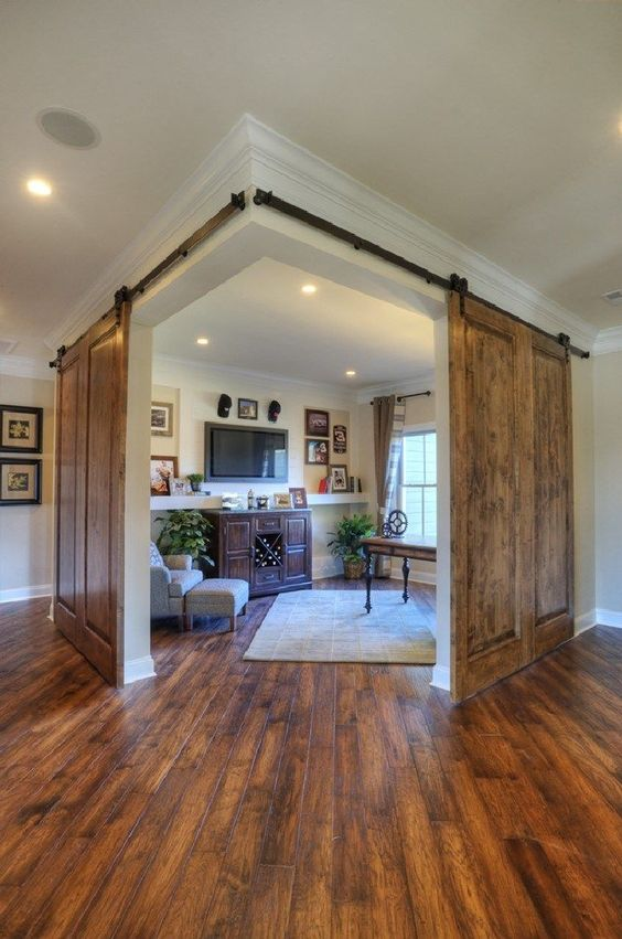 large barn doors for an entire space