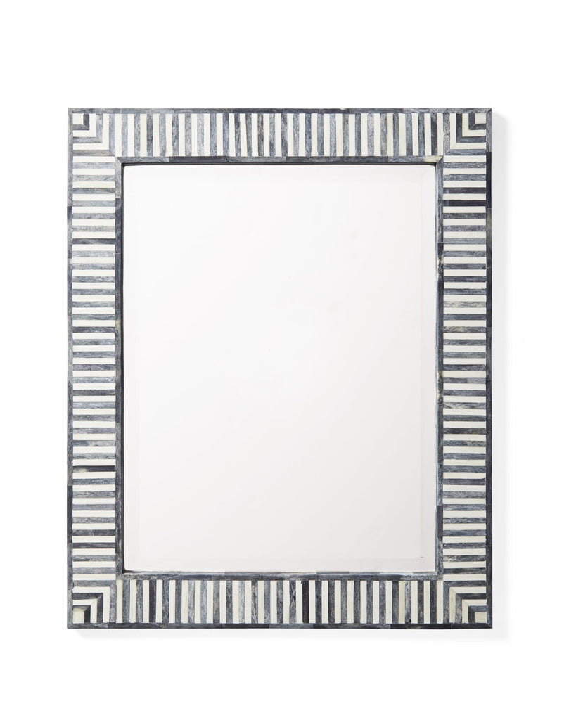 bone inlay mirror for modern home